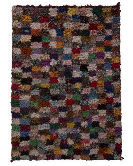Vintage Mid-Sized Moroccan Rug