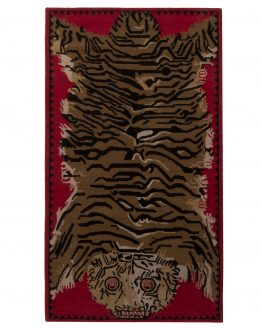 Rug & Kilim's Mid-Sized Pictorial Tiger Rug