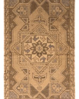 Vintage Mid-Century Oushak Rug