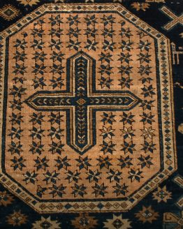 Antique Kuba Rug Medallion Classic Carpet