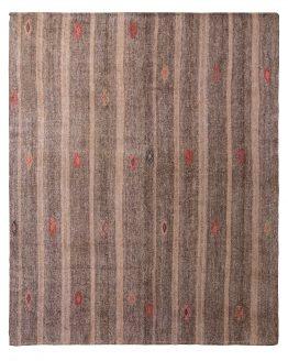 Antique Striped Kilim Beige Gray Rug