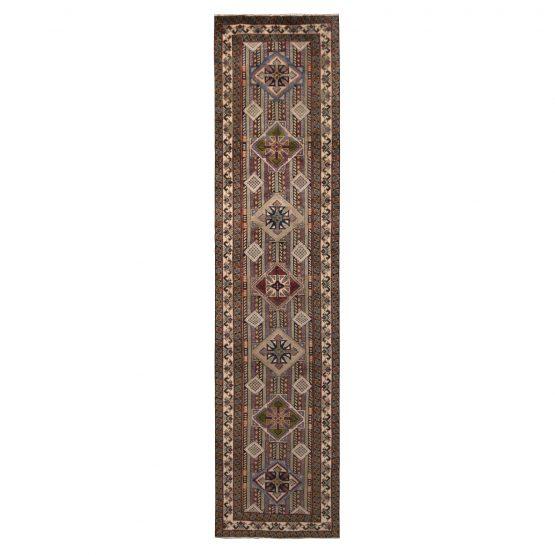 Vintage Azerbaijan Persian Pile Runner