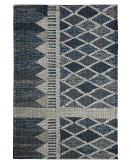 Scandinavian Kilim Geometric Custom Rug Sample