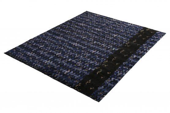 Blue Scandinavian Style Rug