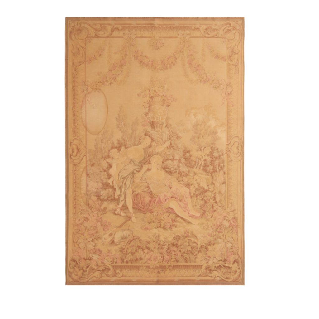Pictorial French tapestry