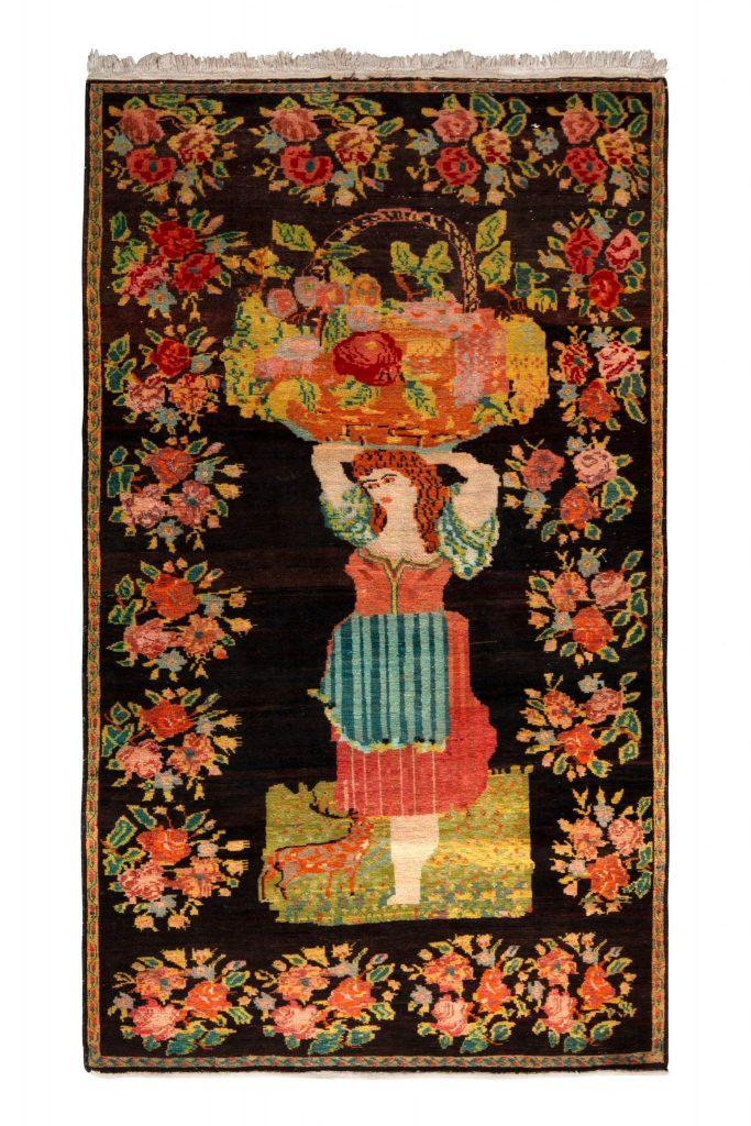 Pictorial Bessarabian rug