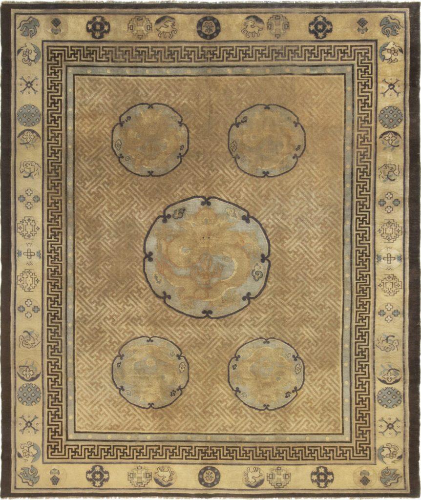Indochinese dragon rug